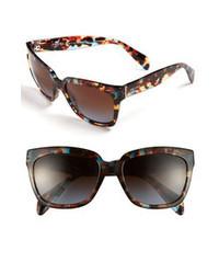 Prada 56mm Sunglasses Brown One Size