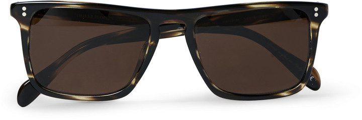 6133e483388 ... Brown Sunglasses Oliver Peoples Bernardo D Frame Acetate Sunglasses ...