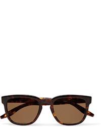 Barton Perreira Coltrane Square Frame Tortoiseshell Acetate Polarised Sunglasses