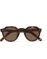 Cubitts Cromer Round Frame Tortoiseshell Acetate Sunglasses