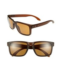 Oakley Holbrook 55mm Polarized Sunglasses Brown One Size