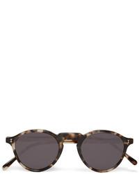 Illesteva Capri Round Frame Tortoiseshell Acetate Sunglasses