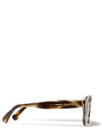 Illesteva Leonard Round Frame Tortoiseshell Acetate Sunglasses