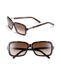 Tommy Hilfiger Retro 56mm Sunglasses Dark Havana Gold One Size