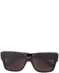 Saint Laurent Eyewear Tortoiseshell Effect Sunglasses