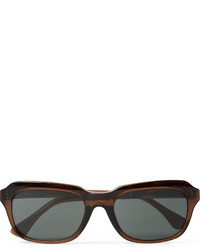 Dries Van Noten Square Frame Acetate Sunglasses