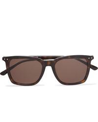 Bottega Veneta Square Frame Tortoiseshell Acetate Sunglasses