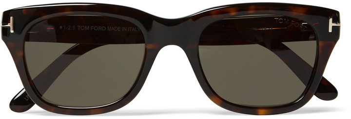 46de1e8f405 ... Tom Ford TOM FORD Snowdon Square-Frame Tortoiseshell Acetate Sunglasses