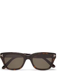 Tom Ford Snowdon Square Frame Tortoiseshell Acetate Sunglasses