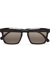 Dick Moby Warsaw Square Frame Tortoiseshell Acetate Sunglasses