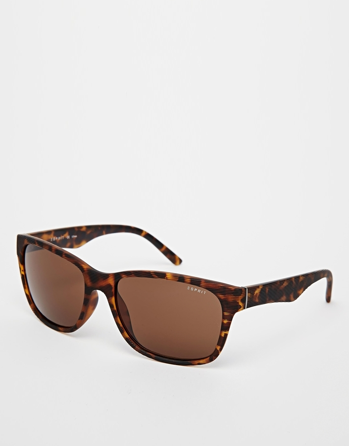 ... Brown Sunglasses Esprit Wayfarer Sunglasses ... 277b039642