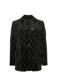 Comme Des Garçons Vintage Velvet Blazer