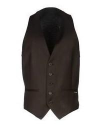 Dark Brown Waistcoat