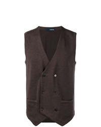 Lardini Double Breasted Gilet