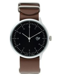 Harold watch dark brown medium 4135972