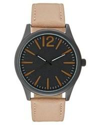 Watch light brownblack medium 4136055