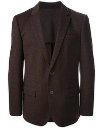 Dark Brown Wool Blazer