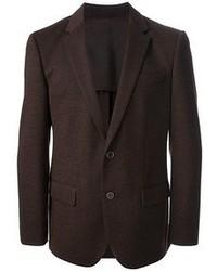 Dark Brown Wool Blazer