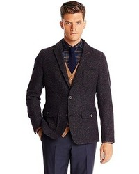 Hugo Boss Marcosz W Regular Fit Wool And Silk Tweed Sport Coat