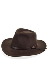 Water repellent wool felt outback hat green medium 417643