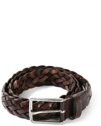 Woolrich Braided Belt