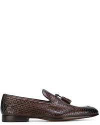 Doucal's Woven Loafers