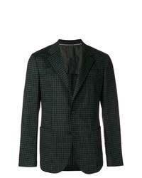 Z Zegna Tweed Pattern Blazer