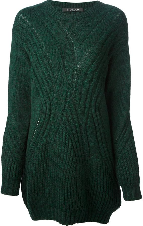 Thakoon Cable Knit Sweater | Where to buy & how to wear