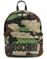 Camouflage logo plaque backpack medium 4978801