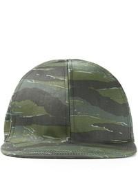 Dark Green Camouflage Baseball Cap