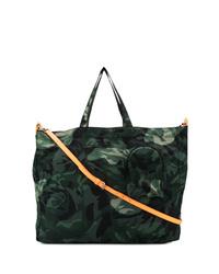 Alexander McQueen Camouflage Tote Bag