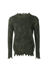 Overcome Distressed Trim Jumper