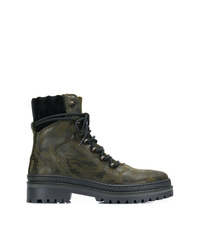 Tommy Hilfiger Camouflage Hiking Boots