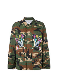 Forte Dei Marmi Couture Embroidered Military Jacket