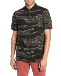 Dark Green Camouflage Polo