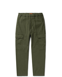 Barena Cotton Blend Ripstop Cargo Trousers