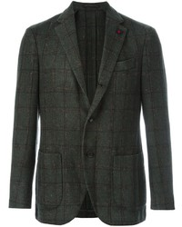 Lardini Supersoft Checked Blazer
