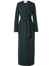 The Row Paycen Belted Ponte Coat