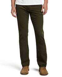Dark Green Corduroy Dress Pants