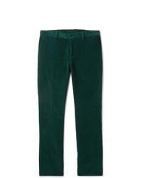 Etro Slim Fit Cotton Corduroy Trousers