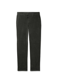 Canali Cotton Blend Corduroy Trousers