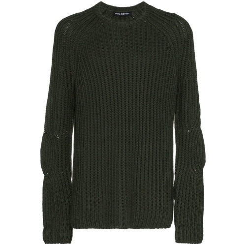 760ea03fdc9 £329, Neil Barrett Chunky Knit Wool Blend Jumper