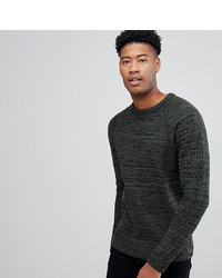 Jacamo Tall Jumper In Textured Knit