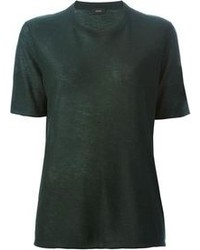 Dark Green Crew-neck T-shirt