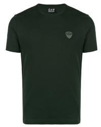 Ea7 Emporio Armani Logo Badge T Shirt