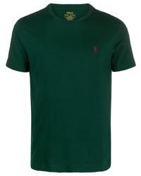 Polo Ralph Lauren Logo Embroidered T Shirt