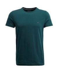 New stretch basic t shirt green medium 4273014