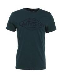 Secondary print t shirt dark green medium 4160199