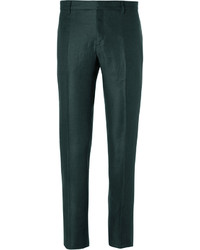 Burberry Prorsum Slim Fit Linen Trousers