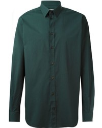 Dark green dress shirt original 5228412